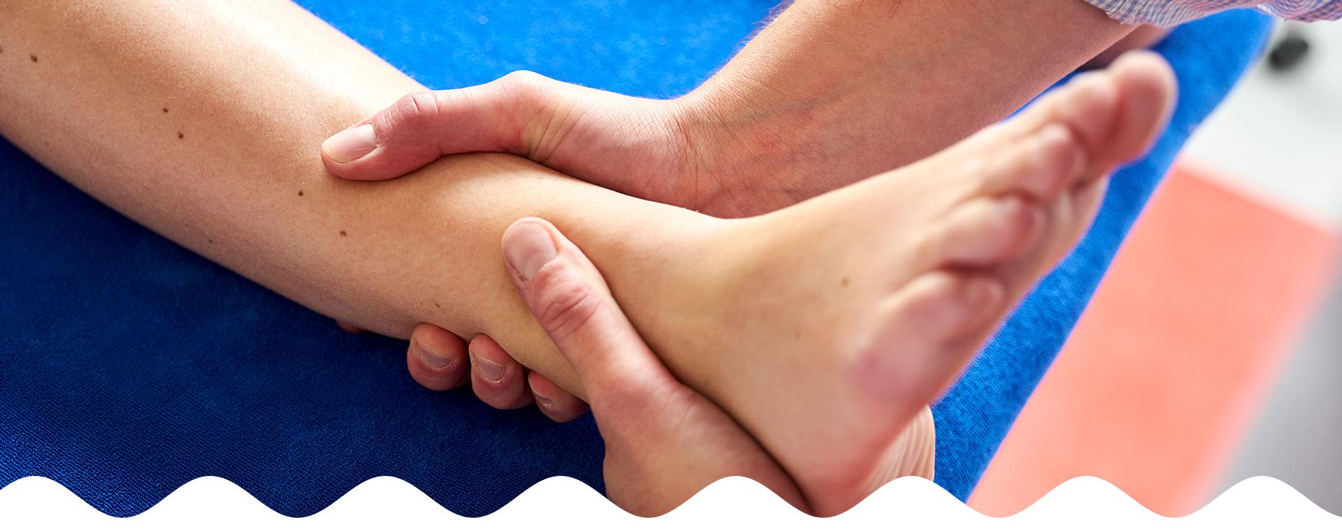 Behandeling van enkel door fysiotherapeut | Fysio Stenia Zeist